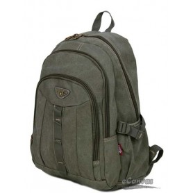 Travel military computer daypack  army green