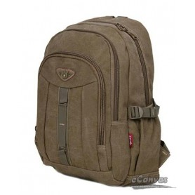 Travel military computer daypack khaki