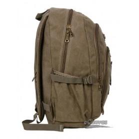 Travel military computer daypack khaki for mens