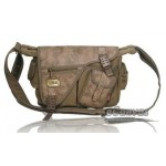 Commute messenger bag khaki, army green, black