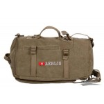 Army multi purposes messenger bag backpack khaki, army green, black