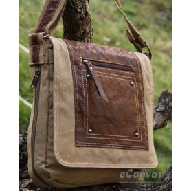 Canvas city light bag khaki, army green, black
