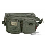 Canvas multi function waist pack ferrino for mens khaki, army green, black