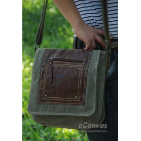 Canvas city light bag army green