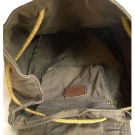 mens travel bag rucksack army green