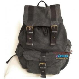 Personalized travel bag rucksack grey