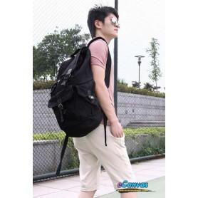 travel bag rucksack for mens black