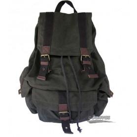 Personalized travel bag rucksack for mens dark green