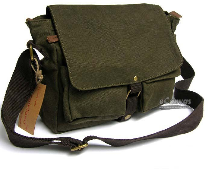 Mens Shoulder Bag Canvas – Shoulder Travel Bag