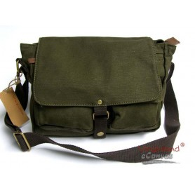 messenger bag, mens shoulder bag green
