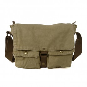 mens shoulder bag army green