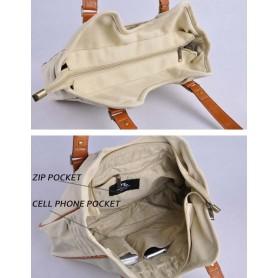 business tote bag pack beige