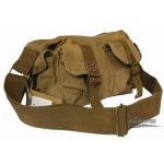 canvas utility bag khaki