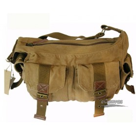 canvas utility bag khaki for mens