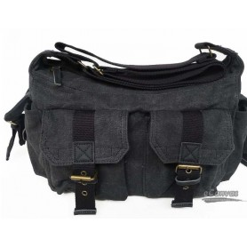 mens shoulder bag grey