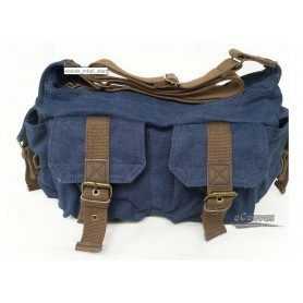 blue mens shoulder bag