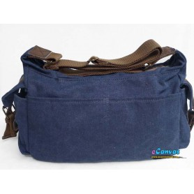 blue canvas mens shoulder bag