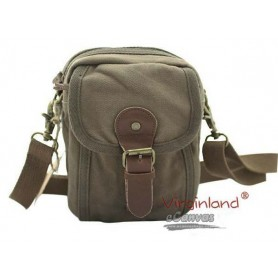 Mini pack, fanny pack, canvas messenger bag for men 3 colors
