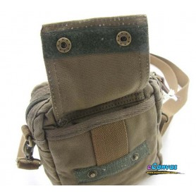 army green canvas fanny pack
