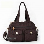 casual womens book bag coffee