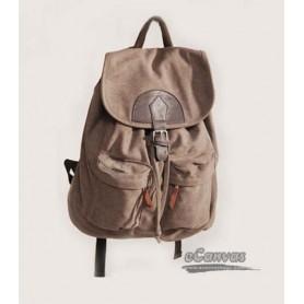 Leisure Handbag Canvas Backpack Schoolbag Backing Bag