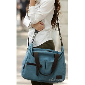 ladies handbags tote blue