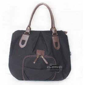 Canvas handbag, messenger diaper bag, cute messenger bag 4 colors