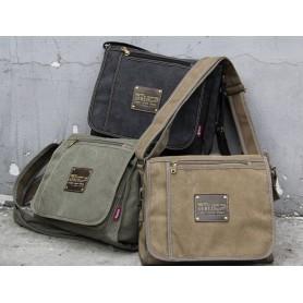womens khaki Aslant Bag
