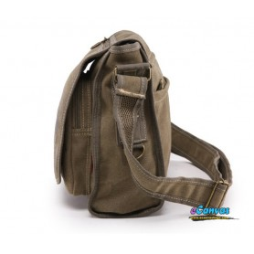 khaki Aslant Bag for mens