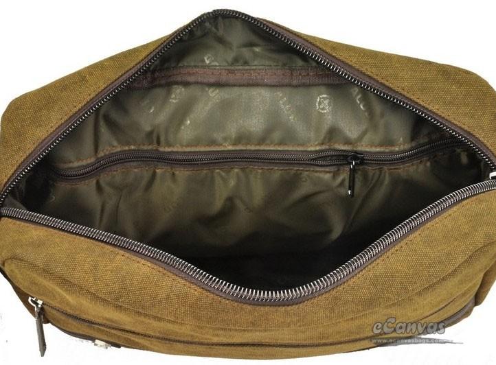 Canvas messenger bag for men, coffee business bag, best briefcase ...