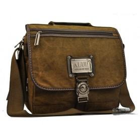 canvas coffee antique briefcase