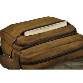 mens Canvas school bag
