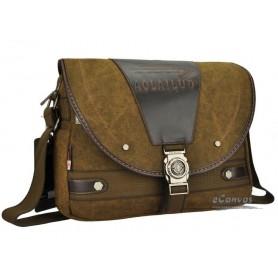 Canvas shoulder messenger bag MEN