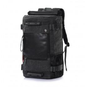 black Canvas rucksack