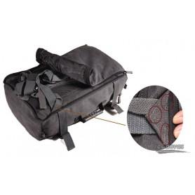black Canvas rucksack for mens