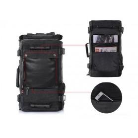 mens multi pocket back pack purse