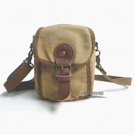 khaki messenger bag