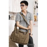 khaki  Canvas crossbody bag
