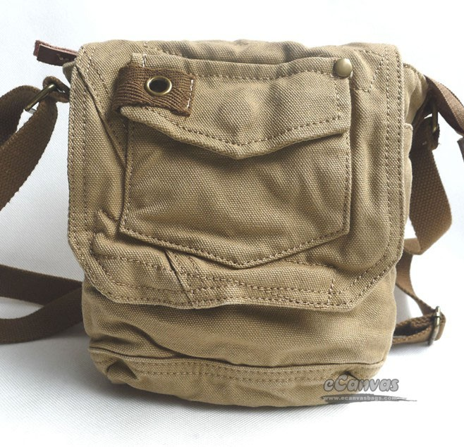 Small Canvas Camera Shoulder Bag – Shoulder Travel Bag
