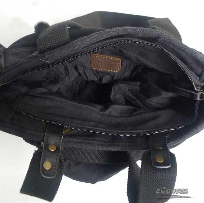 Black Canvas Tote Bag Zipper - Best Bags 2017