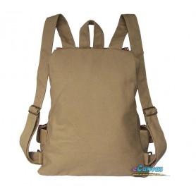 womens khaki school daypack