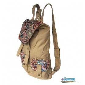 girls khaki school daypack
