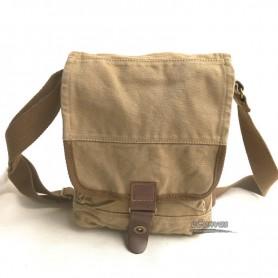 Small canvas bag, shoulder tote bag, small messenger bag 3 colors