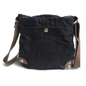 mens black shoulder tote bag
