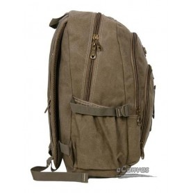 Travel Military Computer Daypack Khaki For Mens