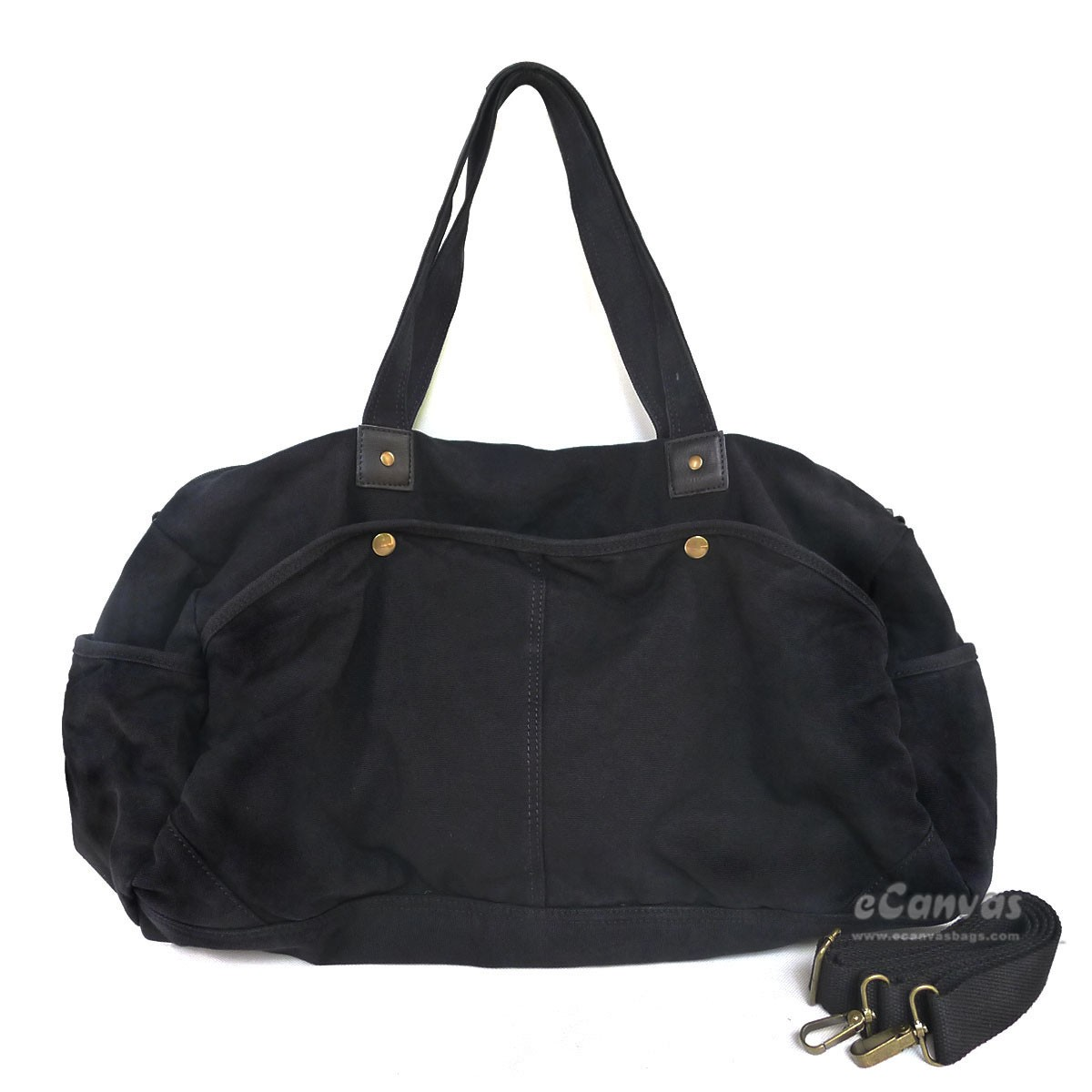 Black Travel Shoulder Bag 11