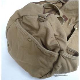 womens khaki travel shoulder bag