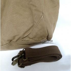 Canvas shoulderbag