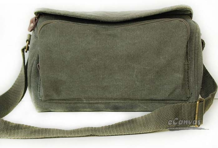 f2ad46402d ... army green Simple casual bag ...