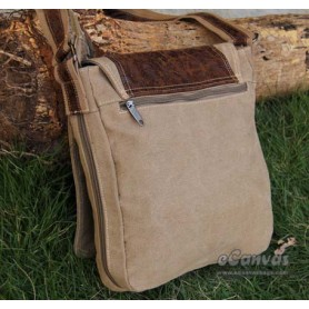Canvas city light bag khaki for mens
